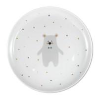 ava&yves - Porzellanteller Eisbär