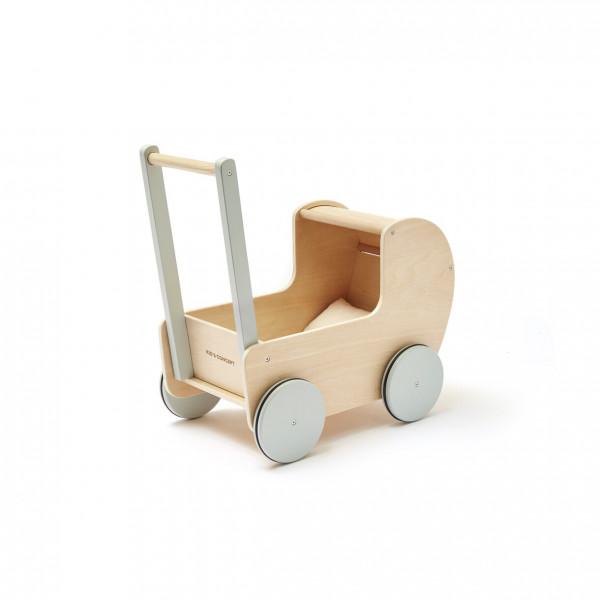 Kids Concept - Puppenwagen natur