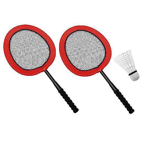 Eduplay - Mega Badminton Set mit XXL Badmintonball rot