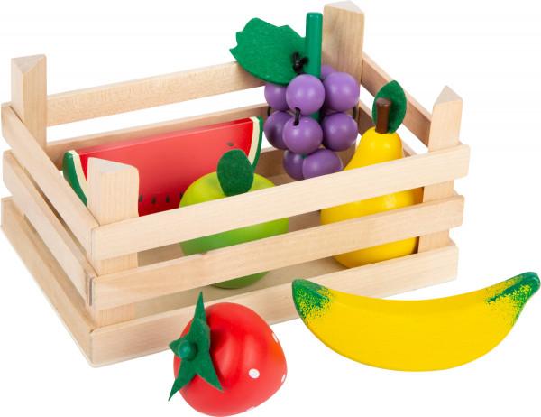 small foot company - Kaufladen-Obst mit Kiste