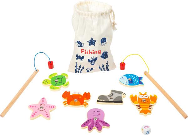 small foot company - Reisespiel Fische angeln