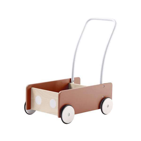 Kids Concept - Lauflernwagen apricot