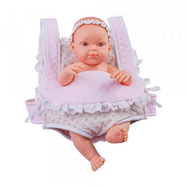 Paola Reina - Baby Doll im Rucksack Girl 32 cm
