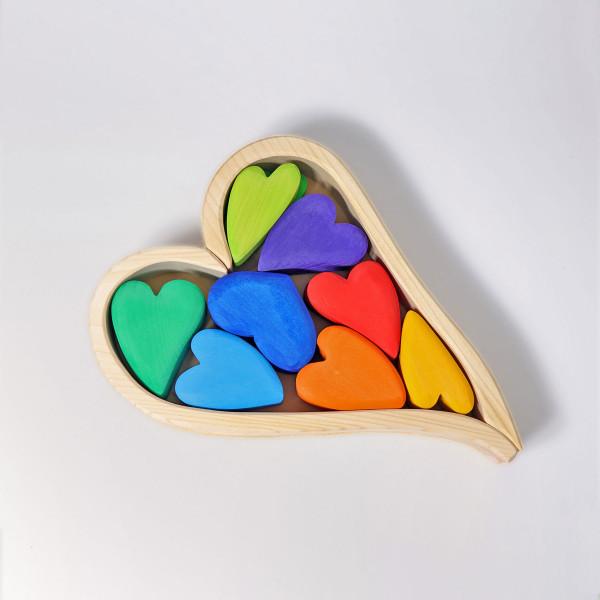 GRIMM'S - Regenbogen Herzen