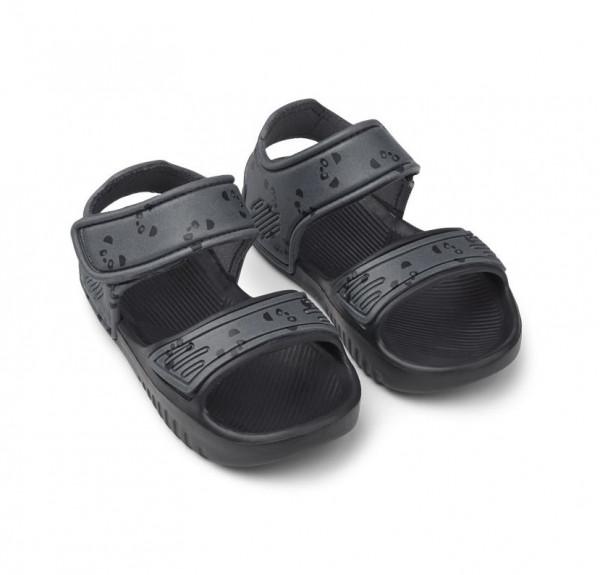 Liewood - Blumer Sandals panda stone grey