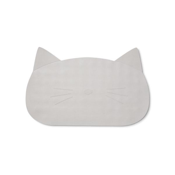 Liewood - Badematte Cat dumbo grey