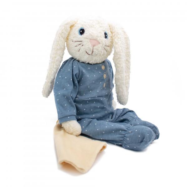 Hugzzeee - Kuscheltier Hase blau