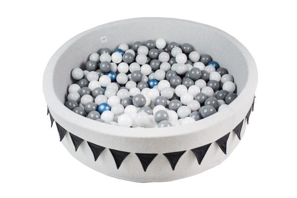 MiniBe - Bällebad mit Wimpel BIG in verschiedenen Ausführungen