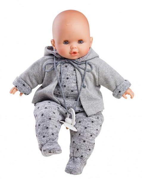 """Paola Reina - sprechende Puppe """"Alex"""" mit Schnuller 36 cm"""