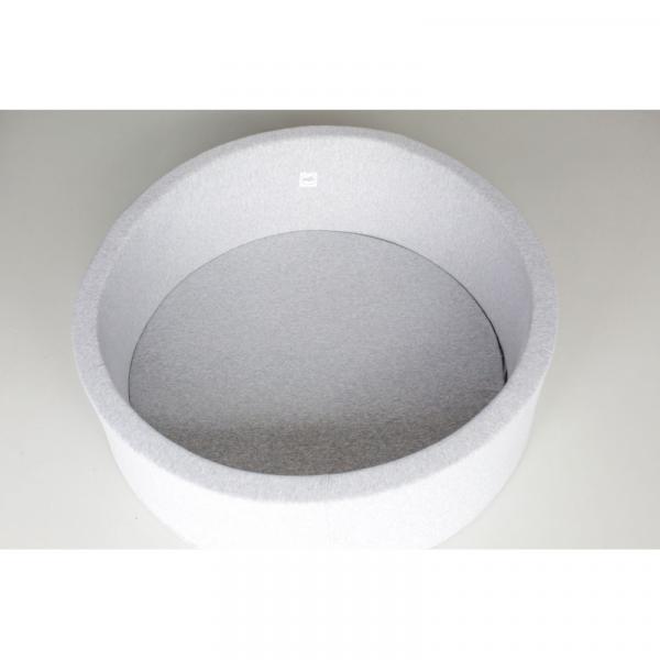 Minibe - Bällebad hellgrau inkl. 250 Bälle - sofort lieferbar