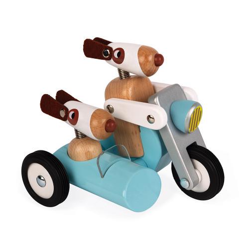 Janod - Spirit Philip Motorrad mit Beiwagen