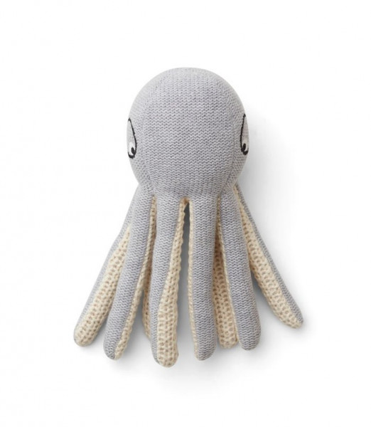 Liewood - Octopus Rassel Ole grey melange