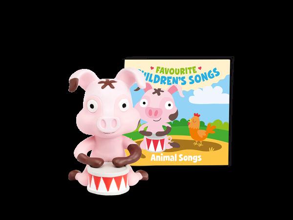 Tonies - Favourite children's songs: Animal Songs (Englische Version)
