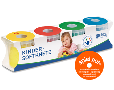 Becks Plastilin - Kinder-Softknete