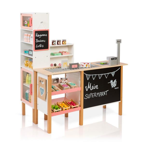 Musterkind - Kaufladen Supermarkt , Alnus weiß/apricot