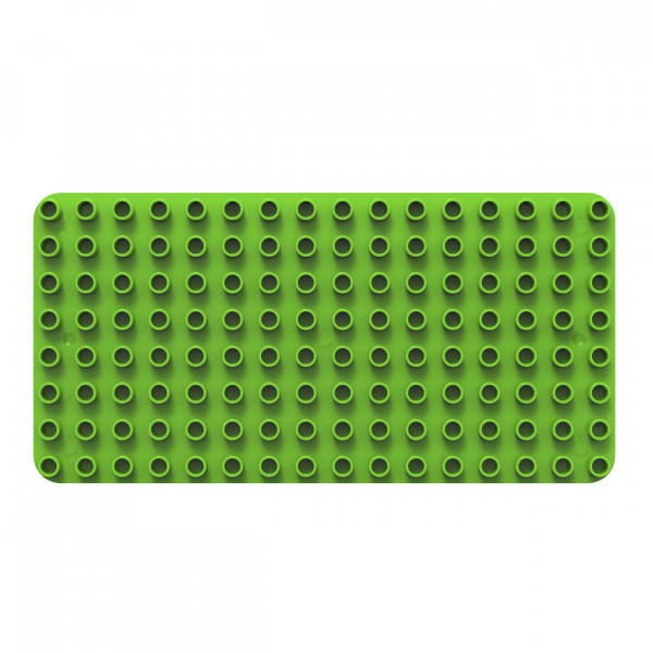 BiOBUDDi - Bausteingrundlage Basic Platte grün