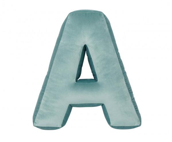 Betty's Home - Samtkissen Buchstaben A-Z mint