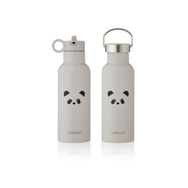 Liewood - Trinkflasche Neo Panda light grey