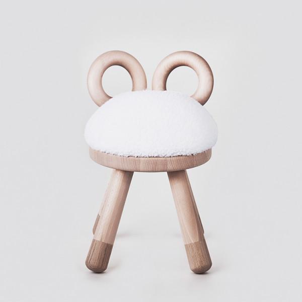 EO - Kinderhocker Schaf