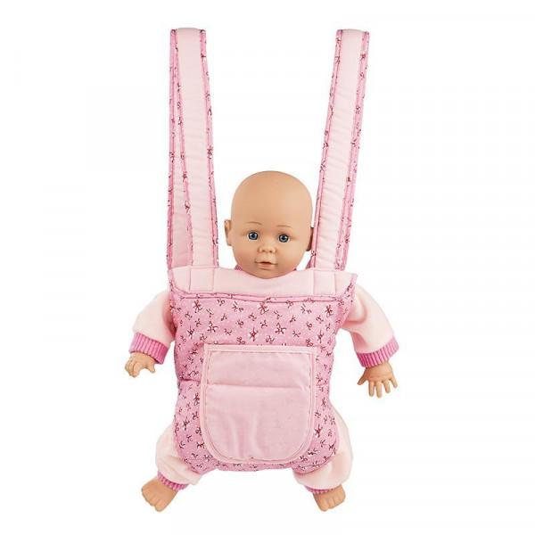 Mini Mommy - Tragesitz für Puppen pink
