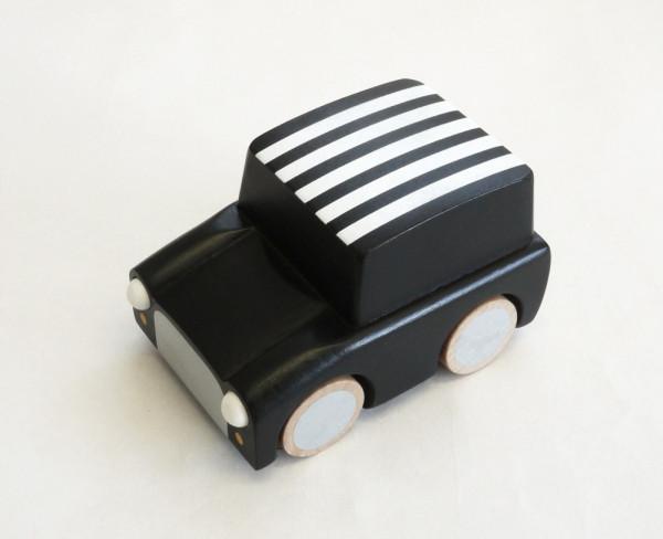 Kiko+ - Kuruma Holzauto schwarz gestreift