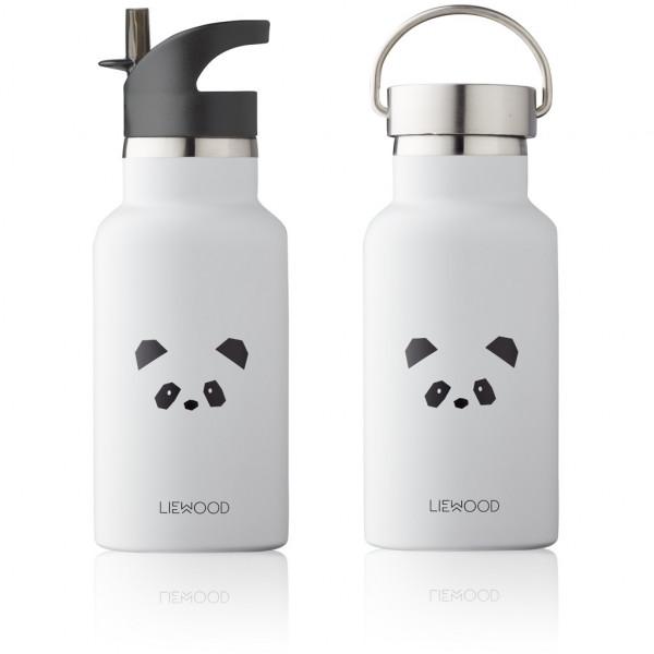 Liewood - Trinkflasche Anker Panda light grey
