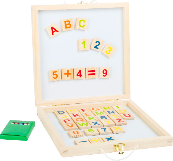 small foot company - Tafelbox Magnetbuchstaben und -zahlen