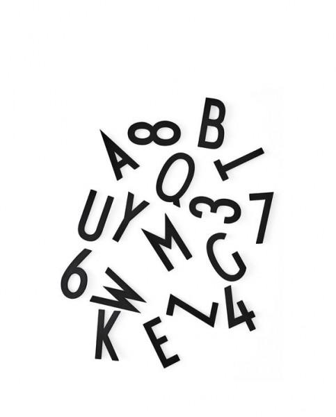 Design Letters - Buchstaben Set XL schwarz
