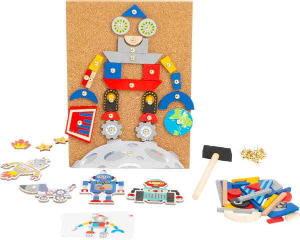 small foot company - Hämmerchenspiel Roboter