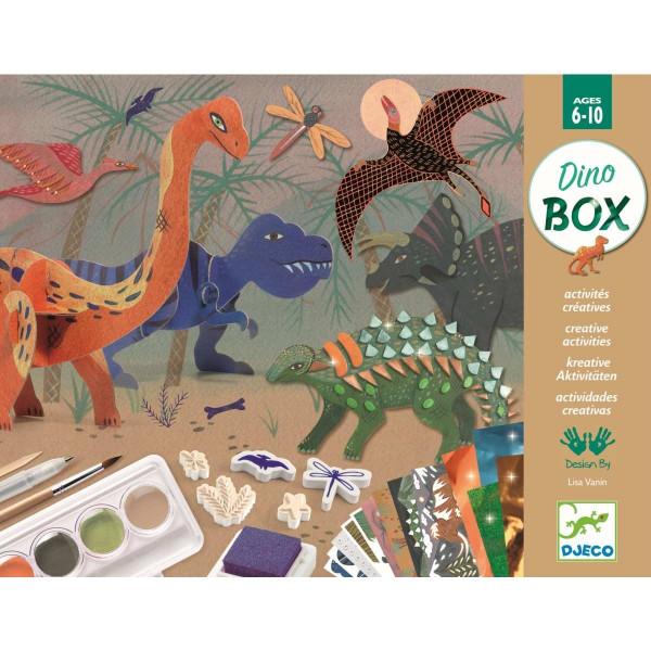 Djeco - Multi-Activity Kit Dino Box