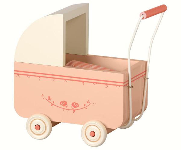 Maileg - Kinderwagen Micro powder 17,5 cm