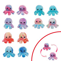 Hats - Kuscheltier Octopus wendbar 20 cm