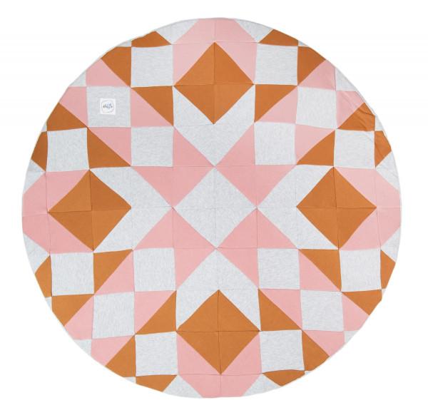 MiniBe - Spielmatten Patchwork in verschiedenen Farben