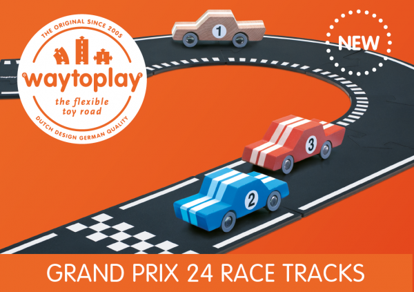 Waytoplay - Spielstraße Grand Prix Set NEW