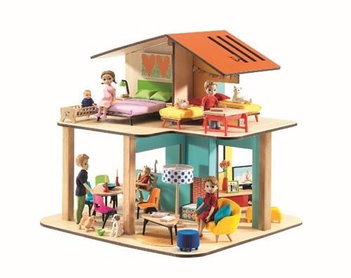 Djeco - Puppenhaus: modern house