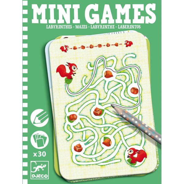 Djeco - Mini Games: Arianes Labyrinthe