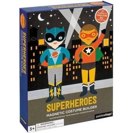 Petit Collage - Magnetspiel Anziehfiguren Superheld