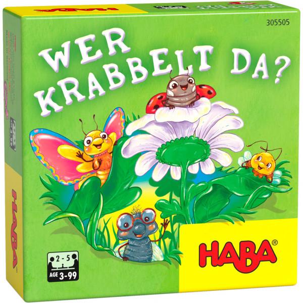 HABA - Kinderspiel - Wer krabbelt da?
