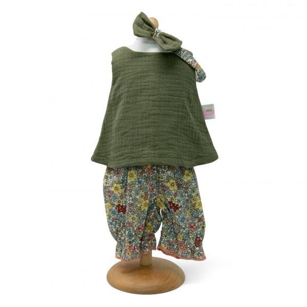 Mini Mommy - Puppenkleider-Set moosgrün, 45 cm