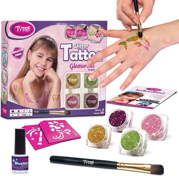 TYTOO - Glitzer Tattoo Kit Glamorous