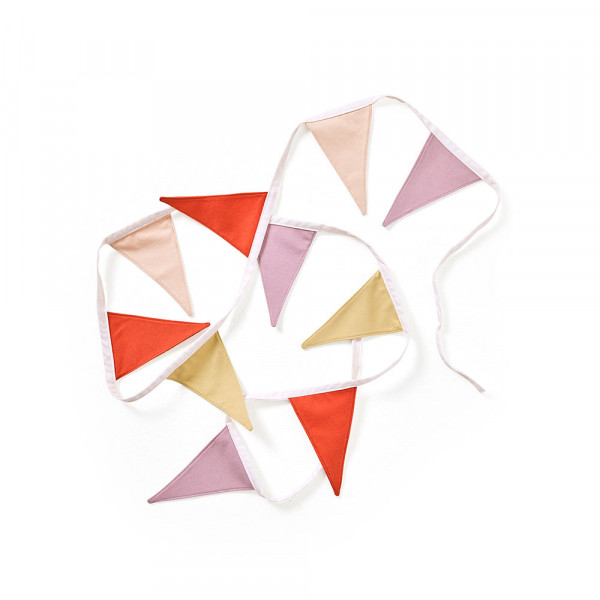 Kids Concept - Wimpelgirlande lila
