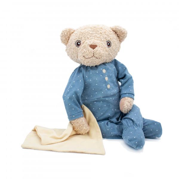 Hugzzeee - Kuscheltier Teddy blau