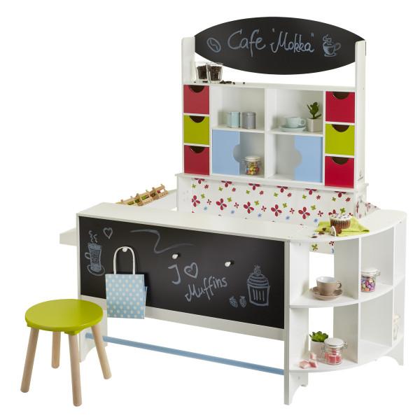 Musterkind - Kaufladen und Café Arabica - mehrfarbig