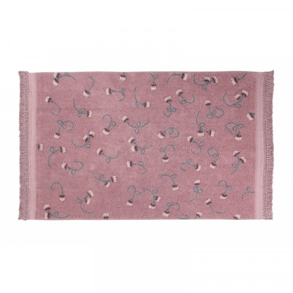 Lorena Canals - Teppich Washable Baumwolle English Gardens Ash Rose