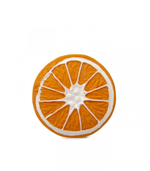 "Oli&Carol - Zahnungshilfe Fruits&Veggies ""Clementino the Orange"""