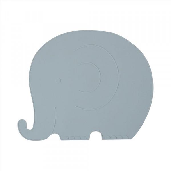 OYOY - Platzset Elefant Henry pale blue