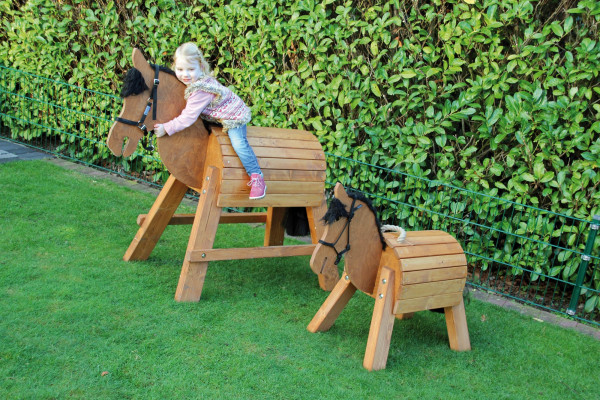 Eduplay - Holzpferd-Pony Günther